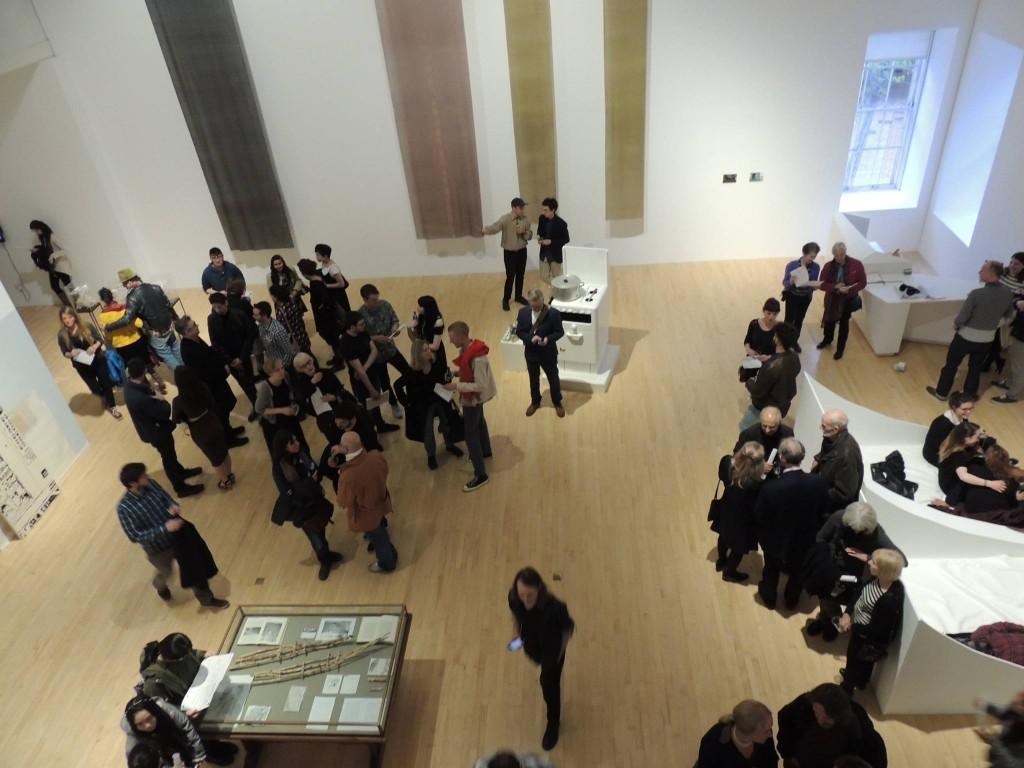 MFA /MA Interim Exhibition Talbot Rice Gallery 2016.