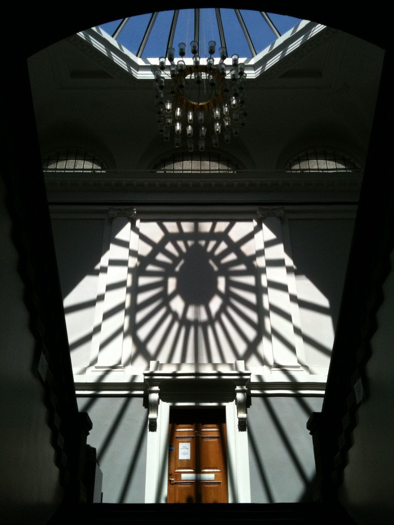 Entrance to Edinburgh College of Art, June 2010